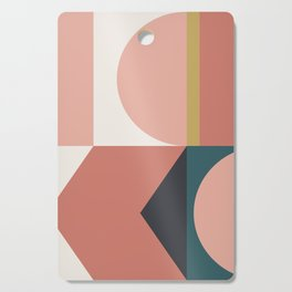 Maximalist Geometric 02 Cutting Board