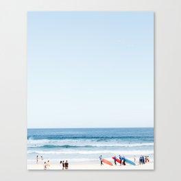 Bondi Beach Watch Canvas Print