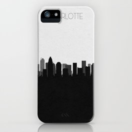City Skylines: Charlotte iPhone Case