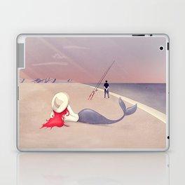 Keep Fishing Laptop & iPad Skin