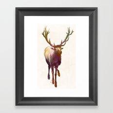 Elkish Framed Art Print