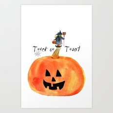 Trick or Treat Art Print