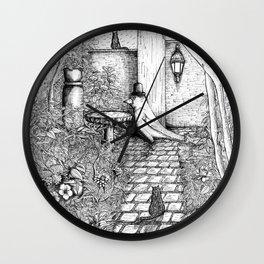 Garden bird Wall Clock