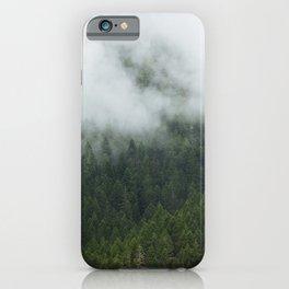 Tree Fog iPhone Case