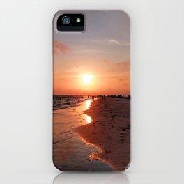 Siesta Key Sunset iPhone Case