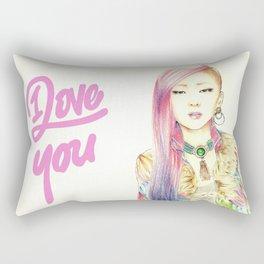 I Love You Everyday Rectangular Pillow
