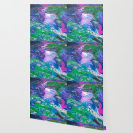 Psychedelic Falls Wallpaper