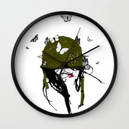 Fight the Good Fight Wall Clock