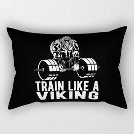 Viking Bodybuilder Rectangular Pillow