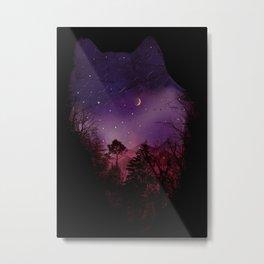 Guardian of the Woods Metal Print