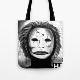 Broken Face Tote Bag