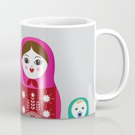 Nesting Family Coffee Mug