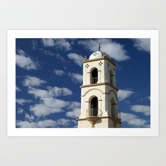 Ojai Tower Art Print