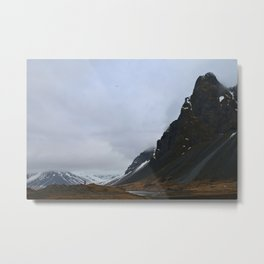 Land of Fire and Ice Metal Print