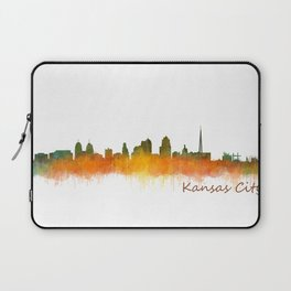 Kansas City Skyline Hq v2 Laptop Sleeve