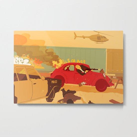Sunday Drive Metal Print