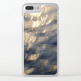 Sea Call Clear iPhone Case