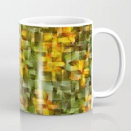 Cubist Daisies Coffee Mug
