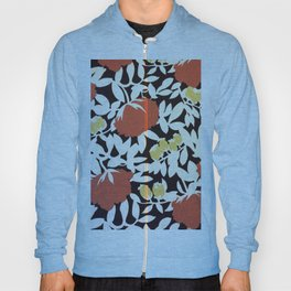 Graphic Floral Duvet Hoody