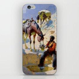 "William Leigh Western Art ""One Good Turn"" iPhone Skin"
