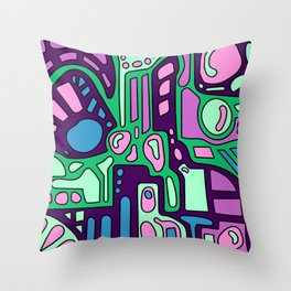 MIN7 Throw Pillow