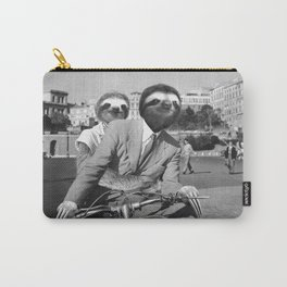 Sloth in Roman Holiday Carry-All Pouch