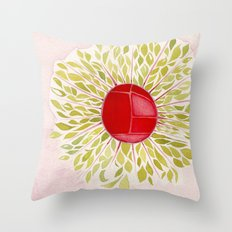 Each Leaf Throw Pillow