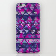 Pink and Purple Triangles iPhone & iPod Skin
