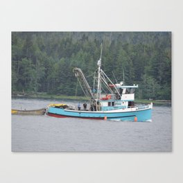 fishing boat 2 Canvas Print