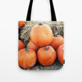 Vintage Pumpkin Pile Tote Bag