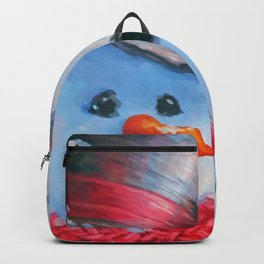 Snowman in the Woods Backpack