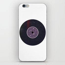 Vinyl Record Star Sign Art | Libra iPhone Skin