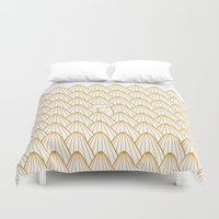 donut Duvet Covers featuring Donut by Jarvis Glasses