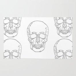 Skull and Crosses Rug