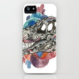 Blue the Raptor iPhone Case