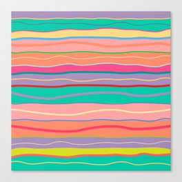 The Color Vibes Canvas Print