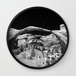 Natures Amazing Work - Landscape Arch  Wall Clock