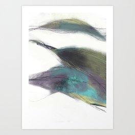 Morceaux/Pieces 6 Art Print