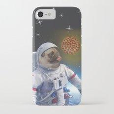 Pugernaut - Pug in Space iPhone 7 Slim Case