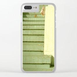 take-out menu Clear iPhone Case