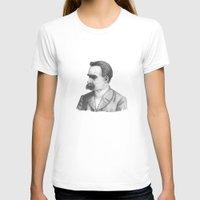 nietzsche T-shirts featuring Friedrich Nietzsche by tavislea
