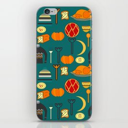Family dinner iPhone Skin