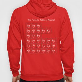Periodic Table of Arsenal Hoody