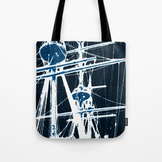 Light's storm Tote Bag