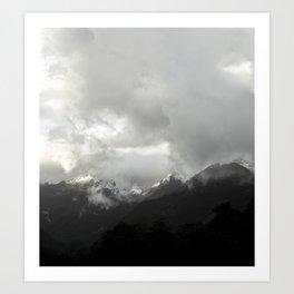 Mountain Series - Fiordland Art Print