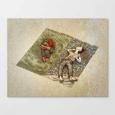 Crooked Creek #2 Canvas Print