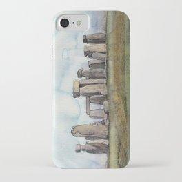 Stone Henge UK England Landscape  iPhone Case