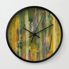 Taped Up Wall Clock
