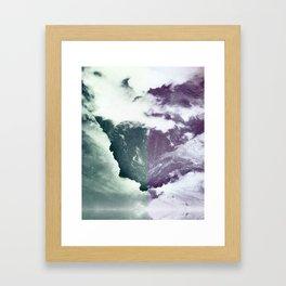 Encroaching Duality Framed Art Print
