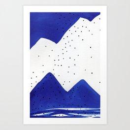 Ultramarine #10 Art Print